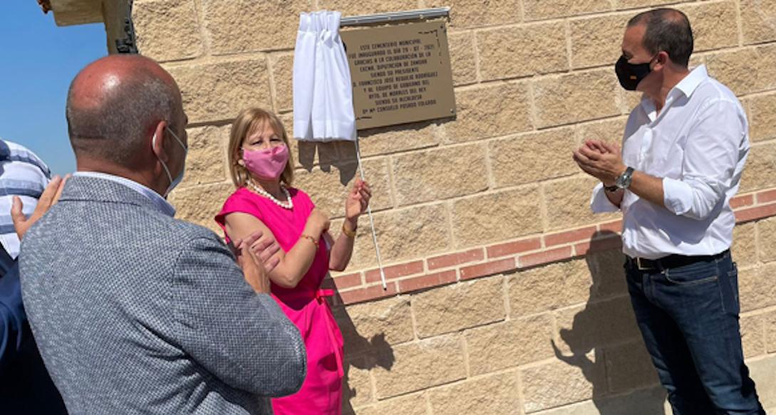 Esquelas.es | Inauguran el nuevo cementerio de Vecilla de la Polvorosa construido por la Diputación Provincial