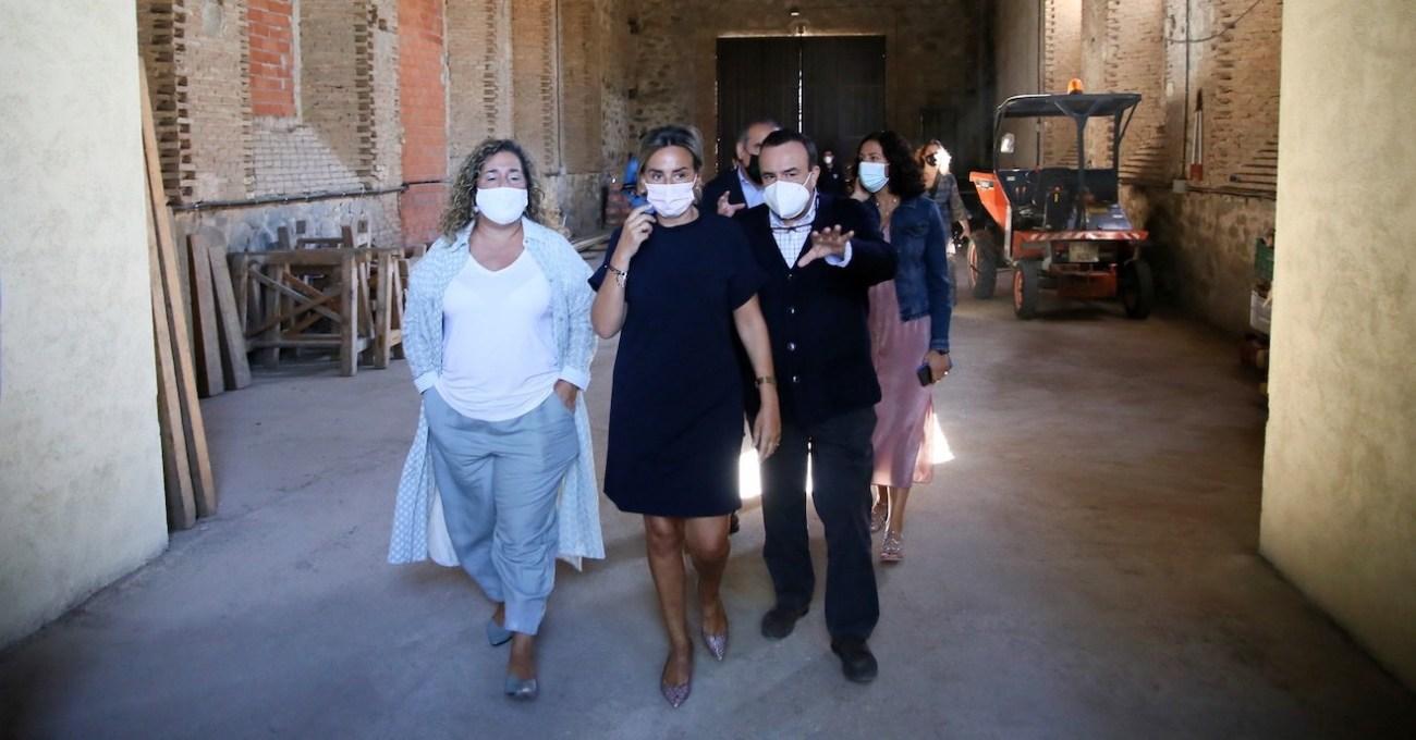 Esquelas.es   La alcaldesa de Toledo destaca una nueva inversión de 150.000 euros en el cementerio municipal
